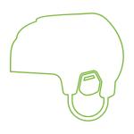 Hockey Helmet Doodle